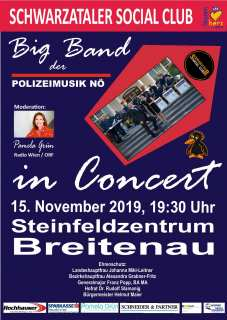 Bild zu SAVE THE DATE! 15. 11.2019 BIG BAND KONZERT